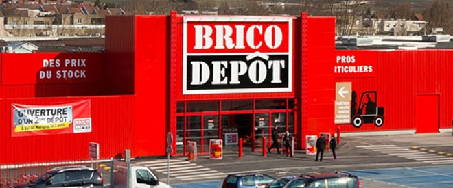 Brico d p t completes transformation of the 15 bricostore for Brico depot maubeuge carrelage