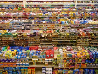 """supermarket shelf"""