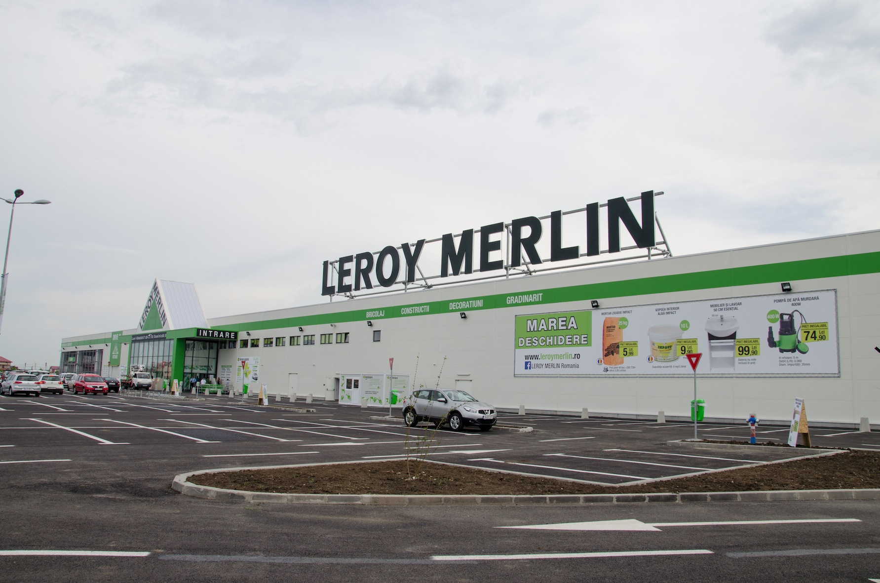 leroy merlin opens second store in cluj napoca business. Black Bedroom Furniture Sets. Home Design Ideas