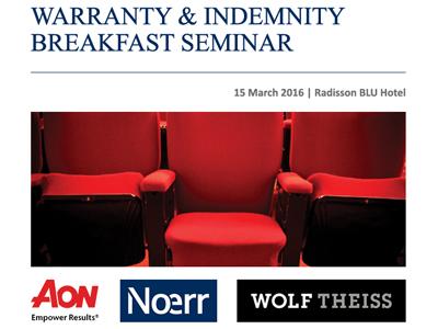 Warranty & Indemnity Breakfast Seminar