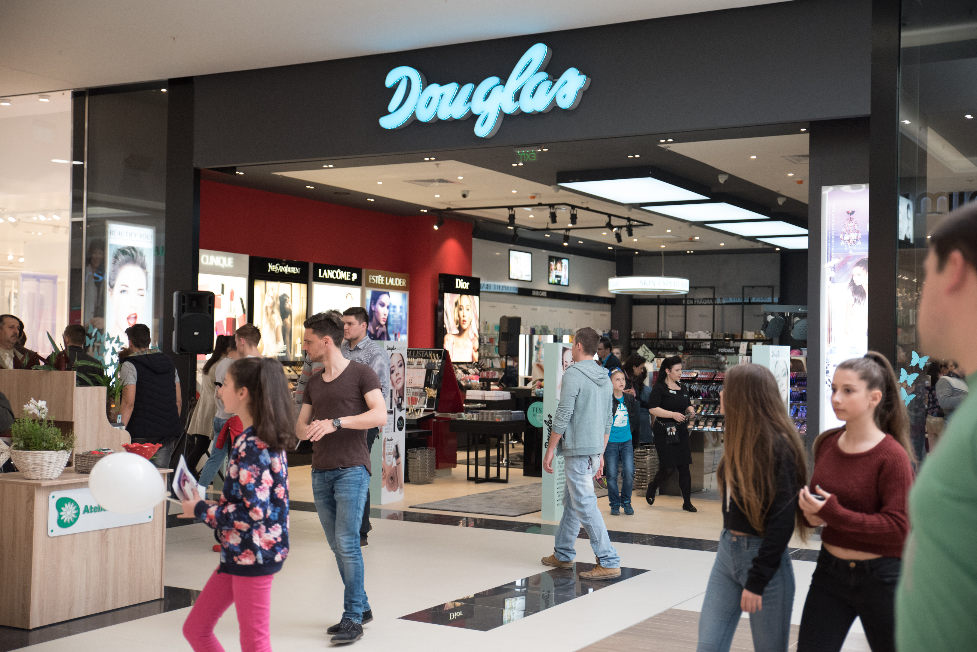 New Douglas store open...