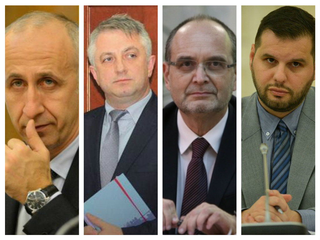 Four Romaian ministers are changed in government reshuffle