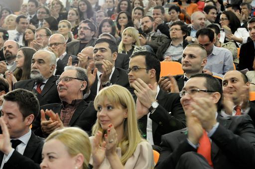Several politicians and media figures attended the conference
