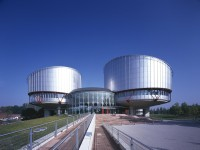 Mandatory Credit: Photo by John Edward Linden / Arcaid / Rex Features ( 633612a ) EUROPEAN COURT OF HUMAN RIGHTS, STRASBOURG, 1989 - 1995. STRASBURG, FRANCE ARCHITECTURE STOCK