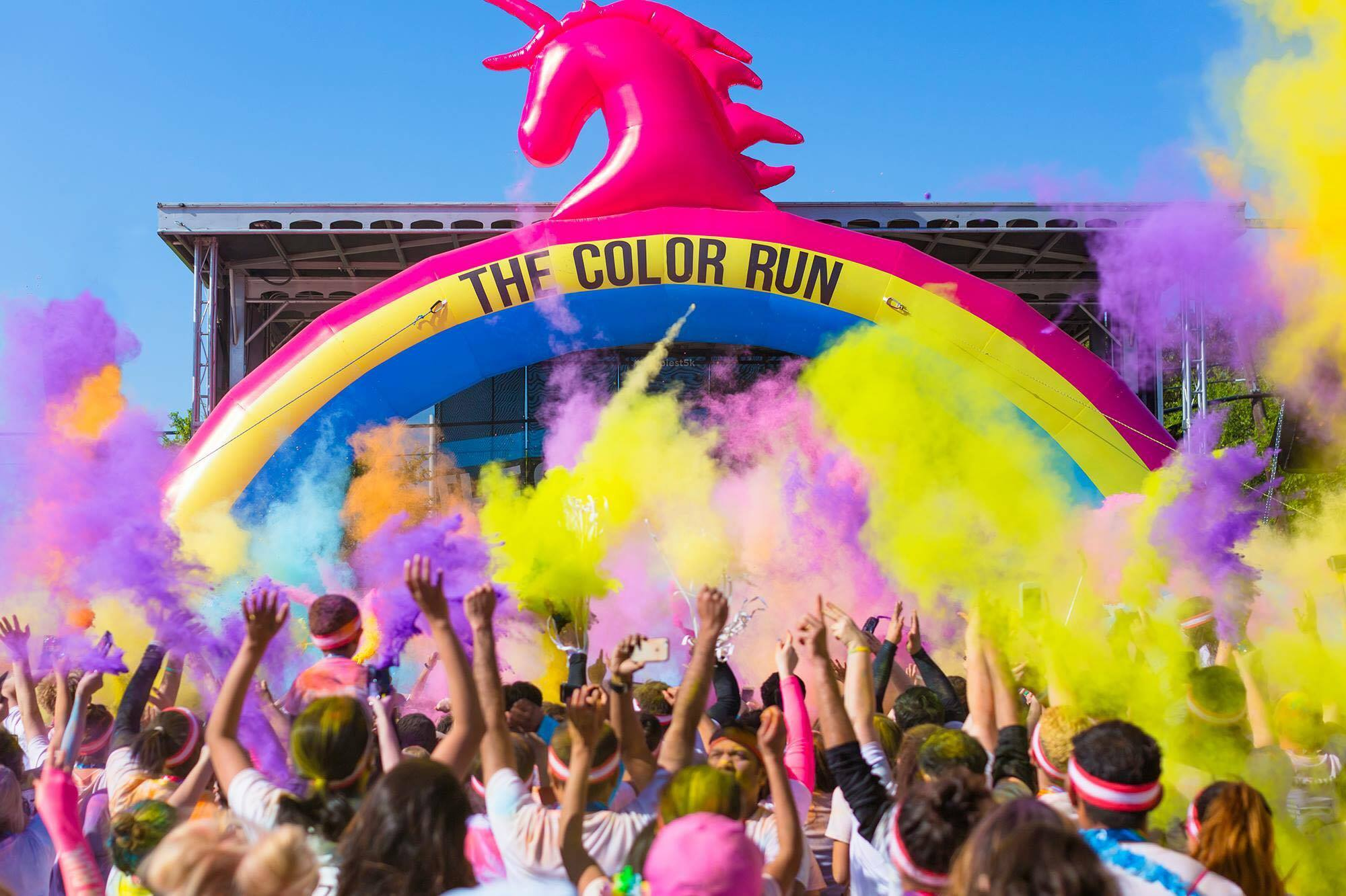 this weekend in bucharest color run dream tour 2017