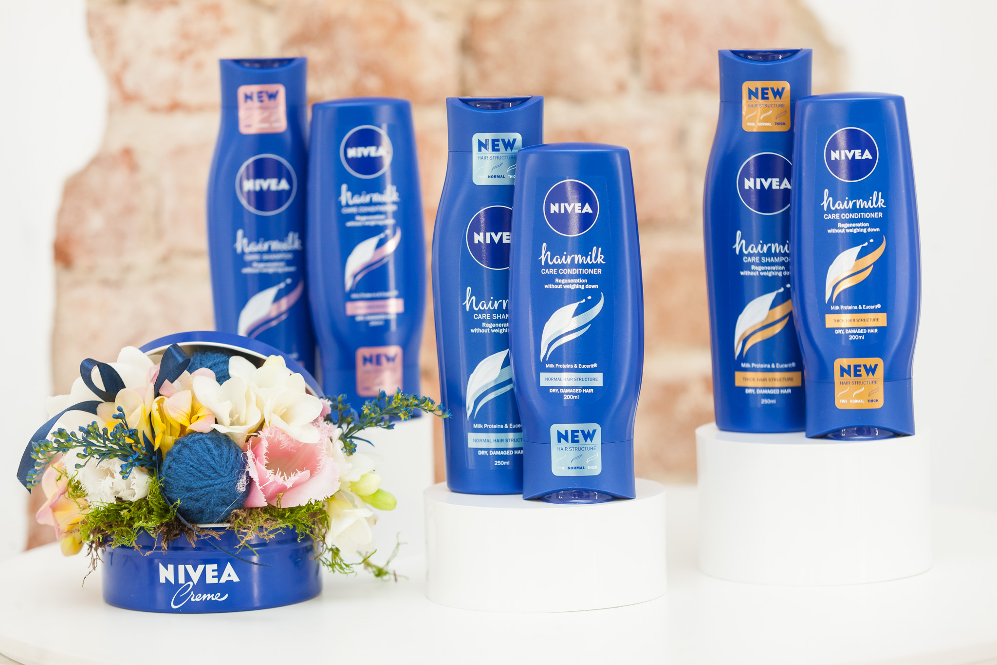 Nivea & FCB Bucharest launch campaign including Pop-Up Hair Salon for new product