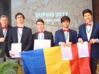 O medalie de aur și trei de argint pentru România la Olimpiada Europeană de Fizică