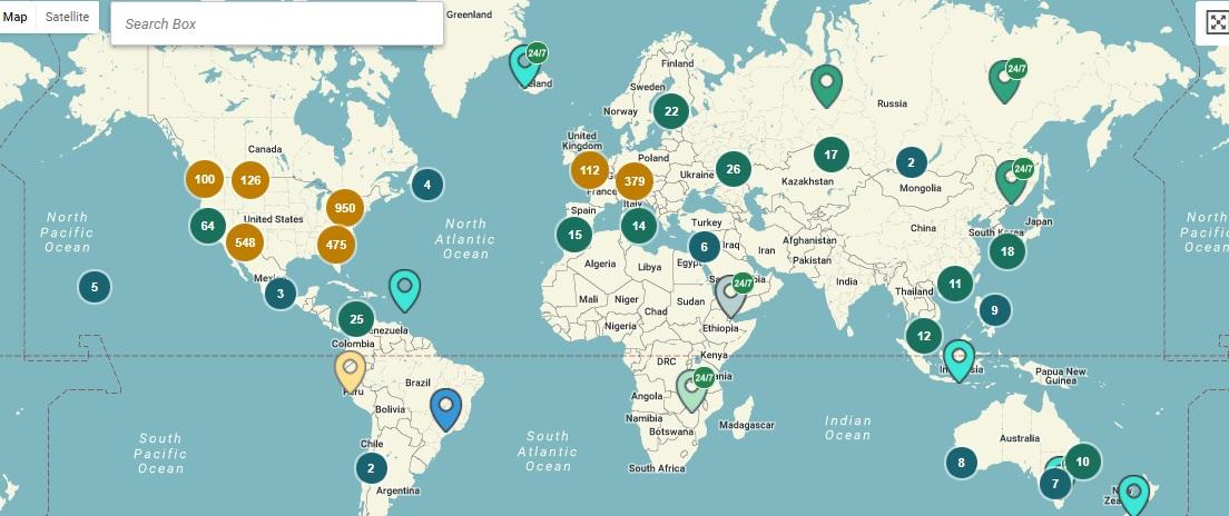bitcoin atm map)