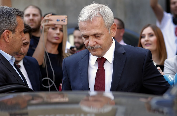 romanian political leader convicted romanian ruling party lider inprisoned liviu dragnea psd inprisoned preliminary results romania european elections Liviu Dragnea convicted prison Liviu Dragnea DNA