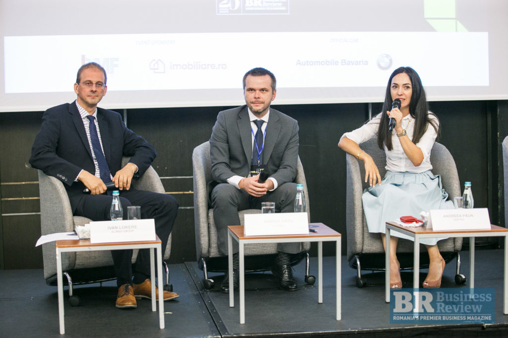 The key to development: diversity and innovation. Ivan Lokere, CEO Alinso Group, present in the Realty Forum 2018, the most important Romanian Real Estate event