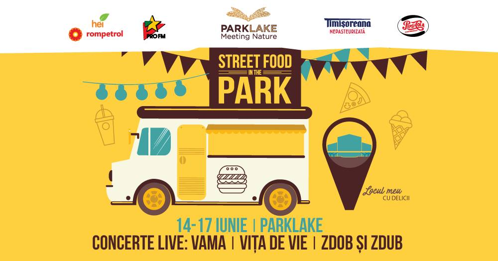 street food in the park