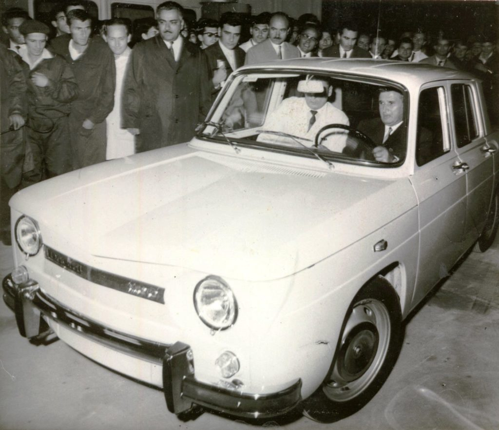 Dacia 1100 and Nicolae Ceausescu