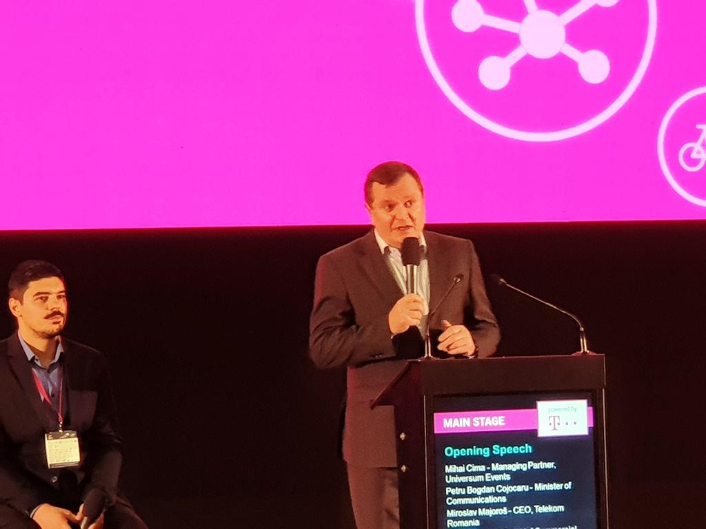 Mirosla Majoros, CEO Telekom Romania