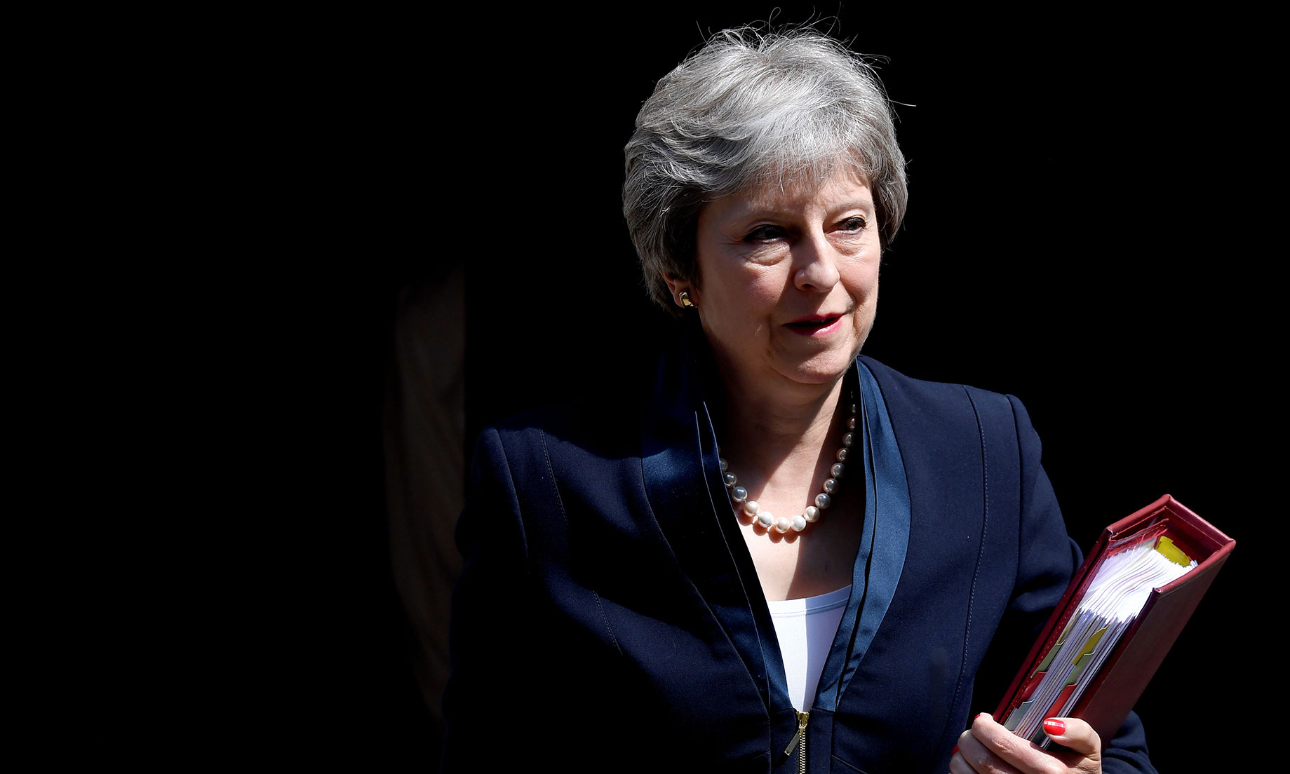 Theresa May hints at openness towards extending Brexit ...