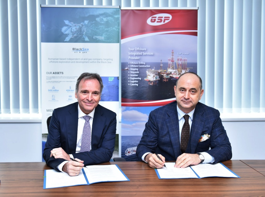 Black Sea Oil & Gas signed the construction contract for Midia Gas