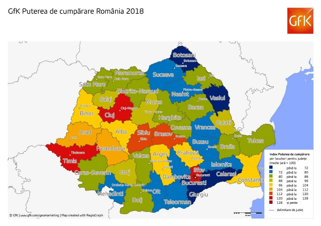 Romanians Purchasing Power Increased In 2018 But So Did The Gap