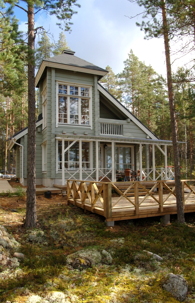 Finnish honka hopes to sell 10 log houses this year in romania for Selling a log home