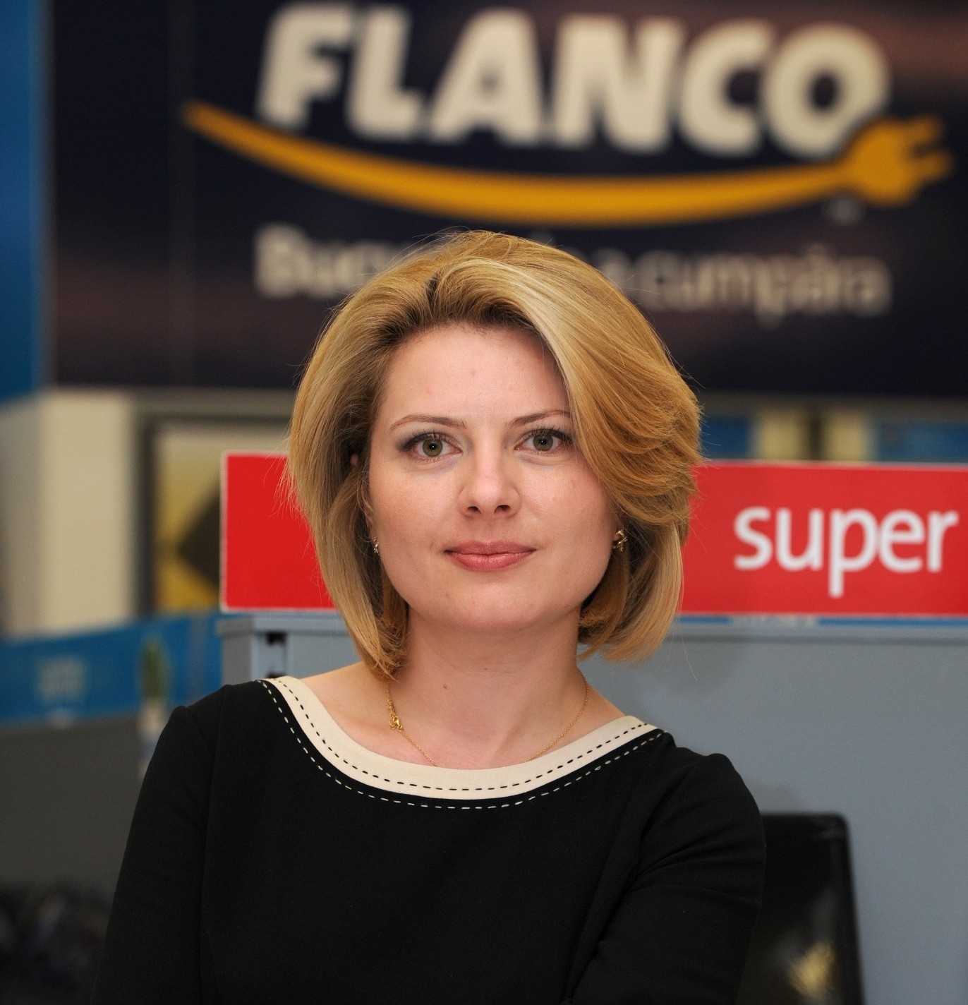 Violeta Luca, marketing director Flanco