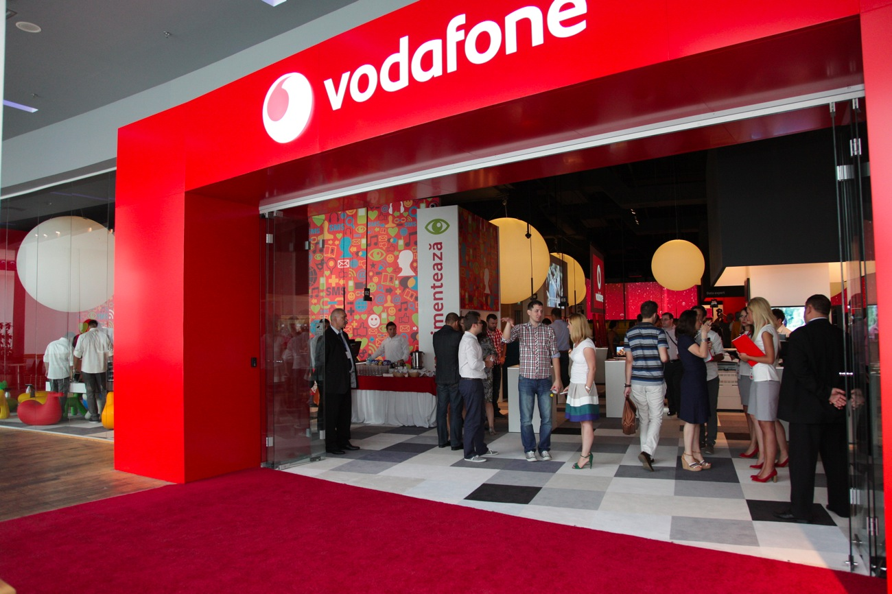 Vodafone rebrands 100 stores in its network with EUR 7mln ...
